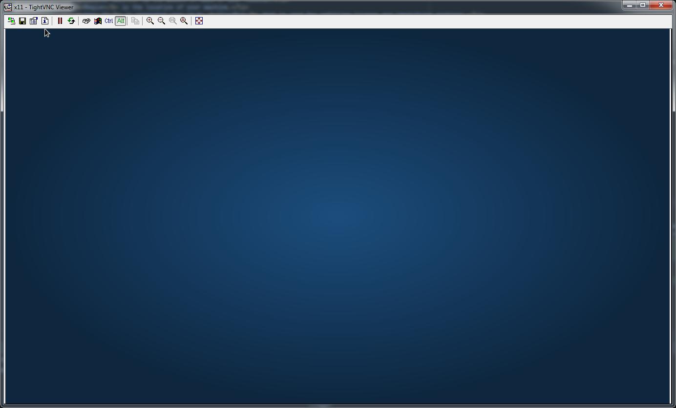 CloudBot virtual machine desktop